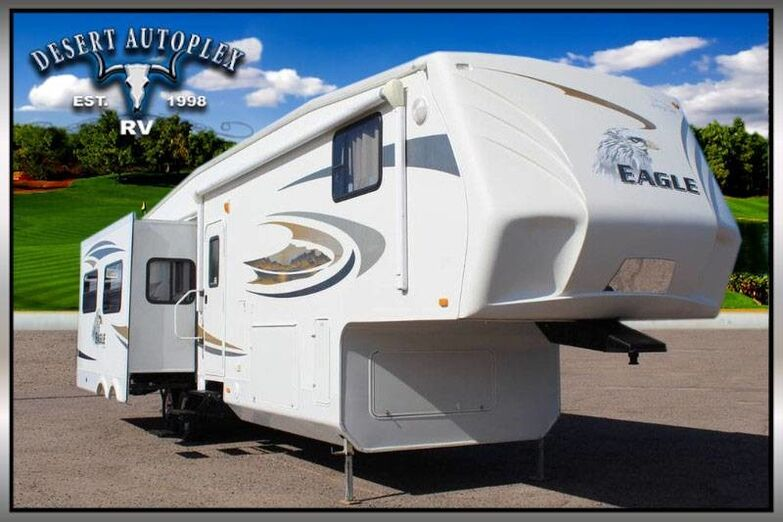 2010 Jayco Eagle 371RLQS Quad Slide 5th Wheel RV Treated w/Cilajet Anti-Microbial Fog Mesa AZ