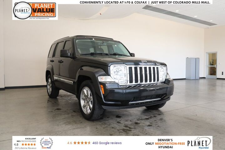 2010 Jeep Liberty Limited Golden CO