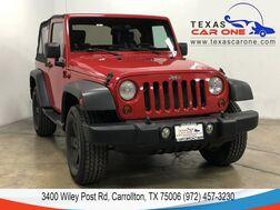 2010_Jeep_Wrangler_SPORT 4WD SOFT TOP CONVERTIBLE ALLOY WHEELS TOW HITCH_ Carrollton TX