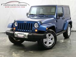 2010_Jeep_Wrangler_Sahara / 3.8L V6 Engine / 4WD With Brand New Soft Top_ Addison IL