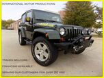 2010 Jeep Wrangler Sahara CUSTOM FRONT BUMPER WITH WINCH