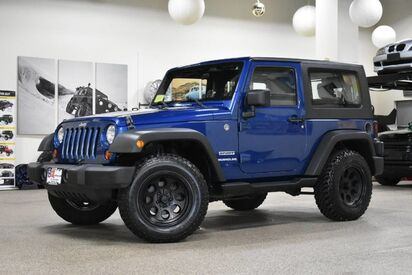 2010_Jeep_Wrangler_Sport_ Boston MA