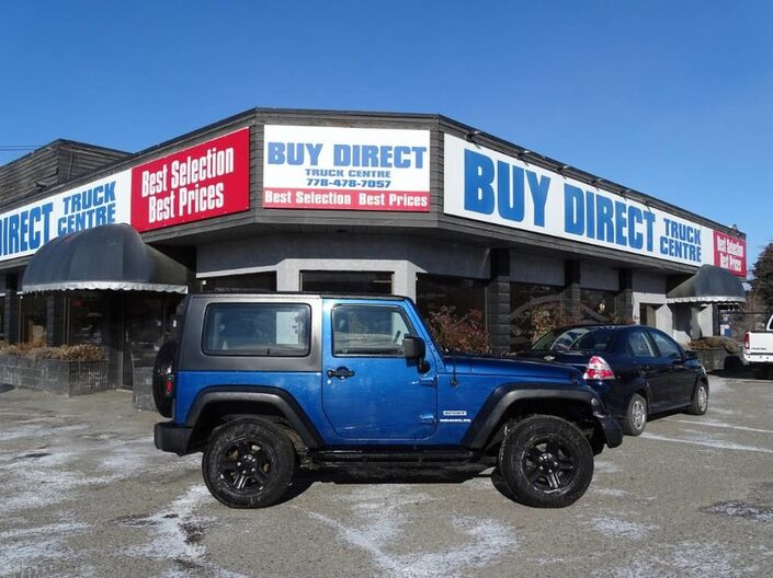 2010 Jeep Wrangler Sport Manual 2 Door 4x4 Kelowna BC