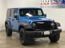 2010_Jeep_Wrangler_UNLIMITED RUBICON 4WD HARD TOP CONVERTIBLE NAVIGATION BLUETOOTH_ Carrollton TX