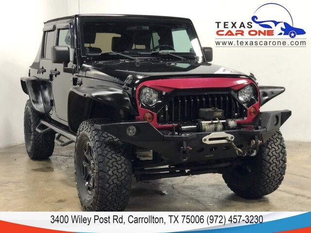 2010 Jeep Wrangler UNLIMITED RUBICON 4WD SOFT TOP CONVERTIBLE NAVIGATION BLUETOOTH Carrollton TX
