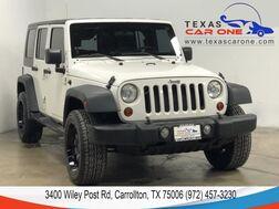 2010_Jeep_Wrangler_UNLIMITED SPORT 4WD AUTOMATIC HARD TOP CONVERTIBLE ALLOY WHEELS_ Carrollton TX