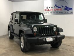 2010_Jeep_Wrangler_UNLIMITED SPORT 4WD SOFT TOP CONVERTIBLE TOW HITCH CRUISE CONTRO_ Carrollton TX
