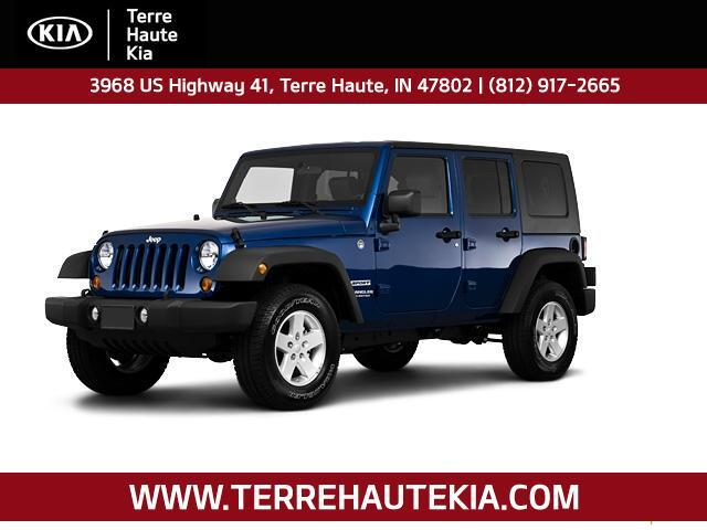 2010 Jeep Wrangler Unlimited 4WD 4dr Mountain Terre Haute IN