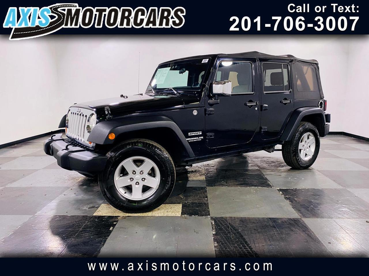 2010 Jeep Wrangler Unlimited 4dr Sport Jersey City NJ
