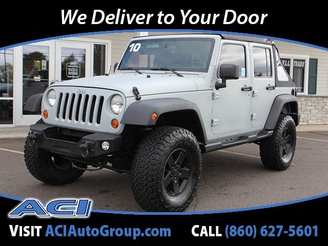 2010 Jeep Wrangler Unlimited Islander East Windsor CT