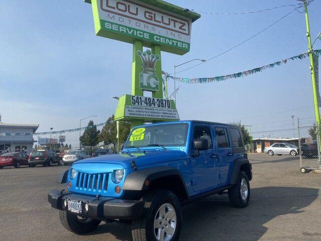 2010 Jeep Wrangler Unlimited Islander Eugene OR