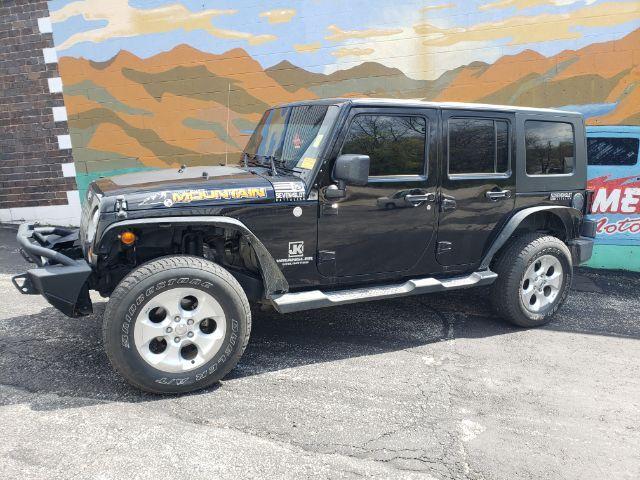 2010 Jeep Wrangler Unlimited Mountain Edition 4WD Saint Joseph MO