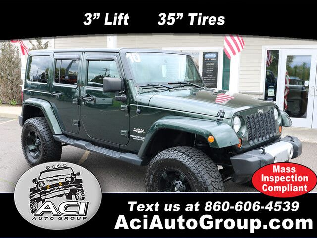 2010 Jeep Wrangler Unlimited Sahara East Windsor CT
