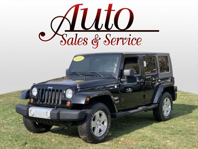 2010 Jeep Wrangler Unlimited Sahara Indianapolis IN