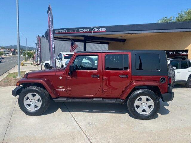 2010 Jeep Wrangler Unlimited Sahara Prescott AZ