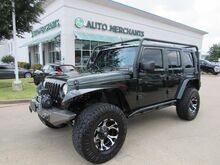 2010_Jeep_Wrangler_Unlimited Sport 4WD CLOTH SEATS, LIFT/WHEELS/TIRES, UNDERCARIAGE COVER, CLIMATE CONTROL_ Plano TX