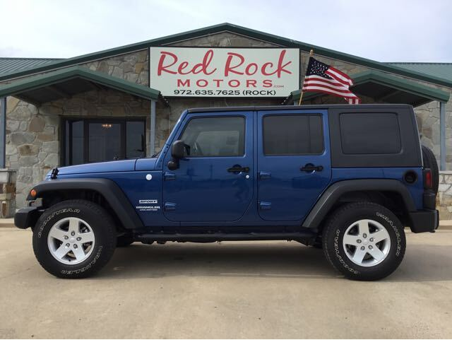 2010 Jeep Wrangler Unlimited Sport 4WD Royse City TX
