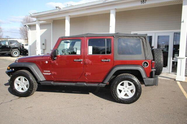 2010 Jeep Wrangler Unlimited Sport East Windsor CT