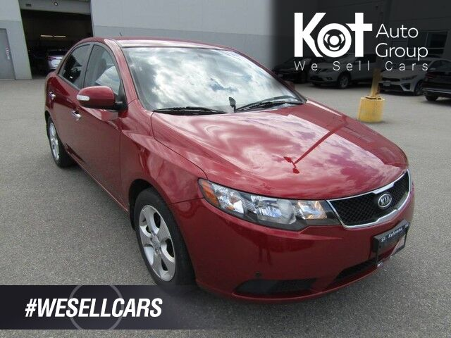2010 Kia FORTE EX! ONLY 91,000 KMS! 1 OWNER! NO ACCIDENTS! CLEANEST UNIT ON THE LOT! Kelowna BC