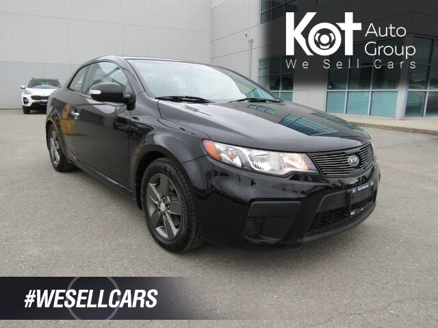 2010 Kia Forte Koup EX! BLACKOUT PACKAGE! SPORTY DRIVE! BLUETOOTH! HEATED SEATS! Kelowna BC