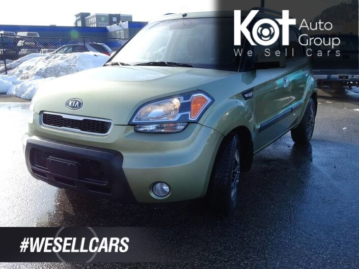 2010 Kia Soul 4u, Heated Seats, Sunroof Kelowna BC