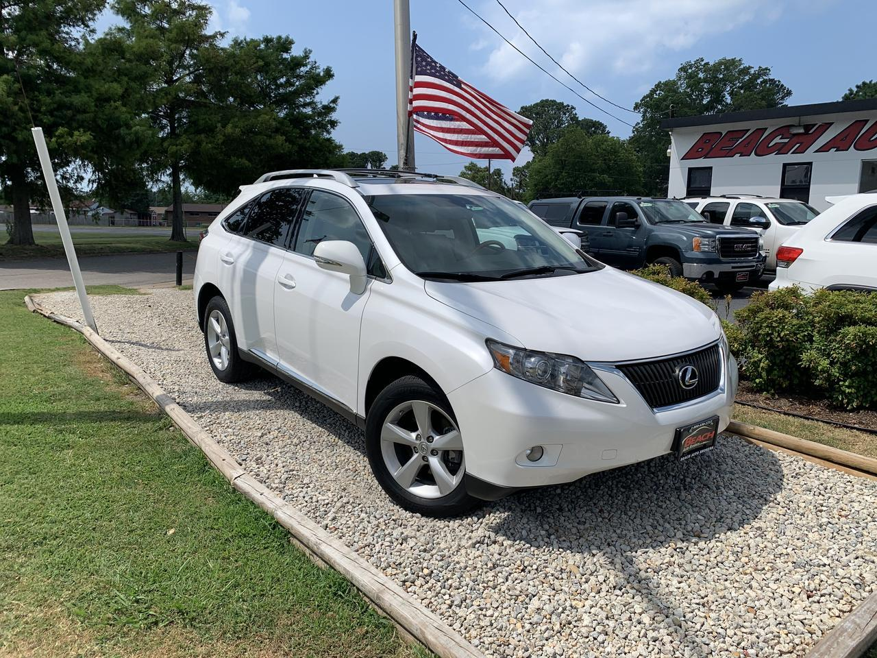 2010 LEXUS RX 350 WARRANTY, LEATHER, SUNROOF, SATELLITE RADIO, BLUETOOTH, AUX/USB PORT, 1 OWNER! Norfolk VA