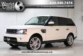 2010 Land Rover Range Rover Sport HSE LUX - AWD XENON LIGHTS NAVIGATION KEYLESS ENTRY PUSH BUTTON START BACKUP CAMERA PARKING ASSIST HEATED LEATHER SEATS SUN ROOF BLUETOOTH AUDIO WOOD GRAIN INTERIOR