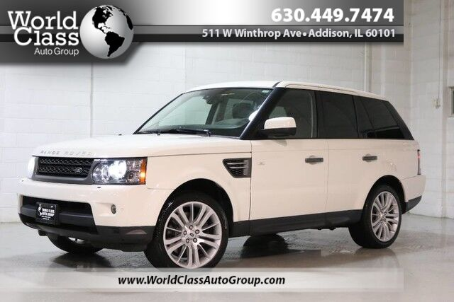 2010 Land Rover Range Rover Sport HSE LUX - AWD XENON LIGHTS NAVIGATION KEYLESS ENTRY PUSH BUTTON START BACKUP CAMERA PARKING ASSIST HEATED LEATHER SEATS SUN ROOF BLUETOOTH AUDIO WOOD GRAIN INTERIOR Chicago IL
