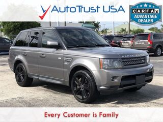 Land Rover Range Rover Sport Supercharged CLEAN CARFAX NAV BACKUP CAM ROOF 2010