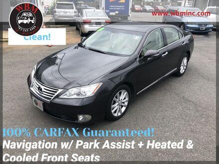 2010_Lexus_ES 350_w/ Premium Package_ Arlington VA