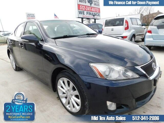 2010 Lexus IS 250  Austin TX