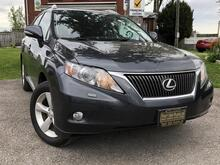 2010_Lexus_RX 350_AWD-Heated and Cool Lthr Seats-Sunroof-Pwr Steering Wheel and liftgate_ London ON