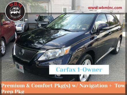 2010_Lexus_RX 350_AWD w/ Premium Package_ Arlington VA
