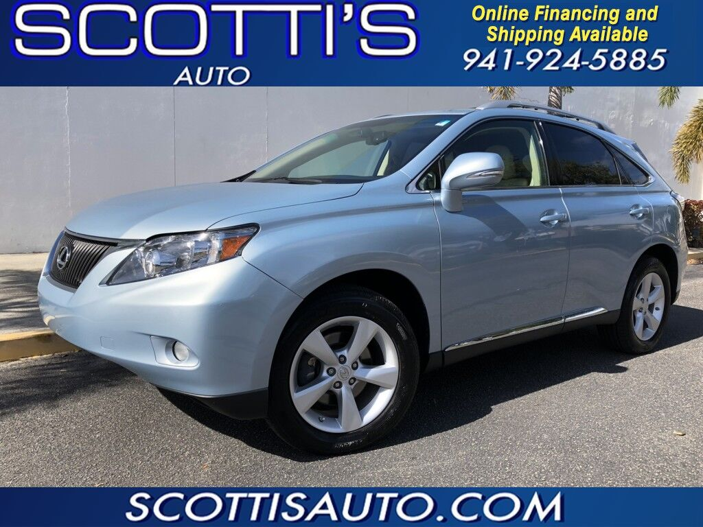 2010 Lexus RX 350 LUXURY SUV~ONLY 69K MILES~AWD~BEIGE LEATHER~ NAVIGATION~ BACK-UP CAMERAOF ~NICE!! ~ONLINE FINANCE AND SHIPPING! CONTACT US TODAY! Sarasota FL
