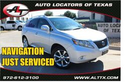 2010_Lexus_RX 350 with NAVIGATION__ Plano TX