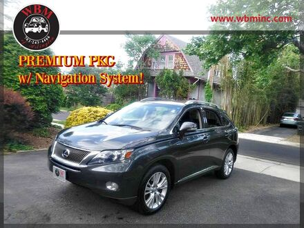 2010_Lexus_RX 450h_w/ Premium Package_ Arlington VA