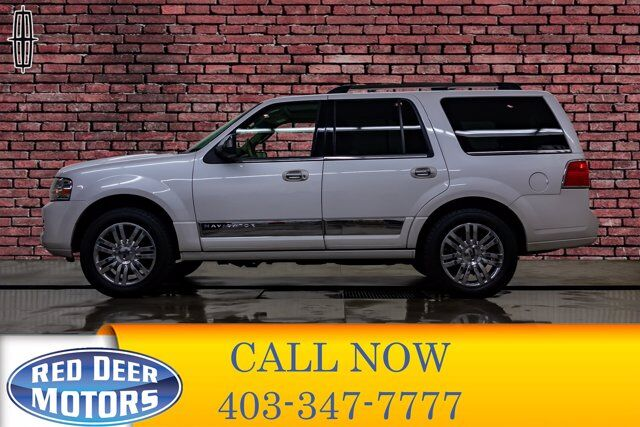 2010 Lincoln Navigator AWD Ultimate Leather Roof Nav BCam Red Deer AB