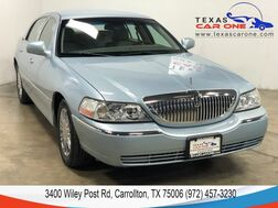 2010_Lincoln_Town Car_SIGNATURE LIMITED AUTOMATIC LEATHER HEATED SEATS CRUISE CONTROL ALLOY WHEELS_ Carrollton TX