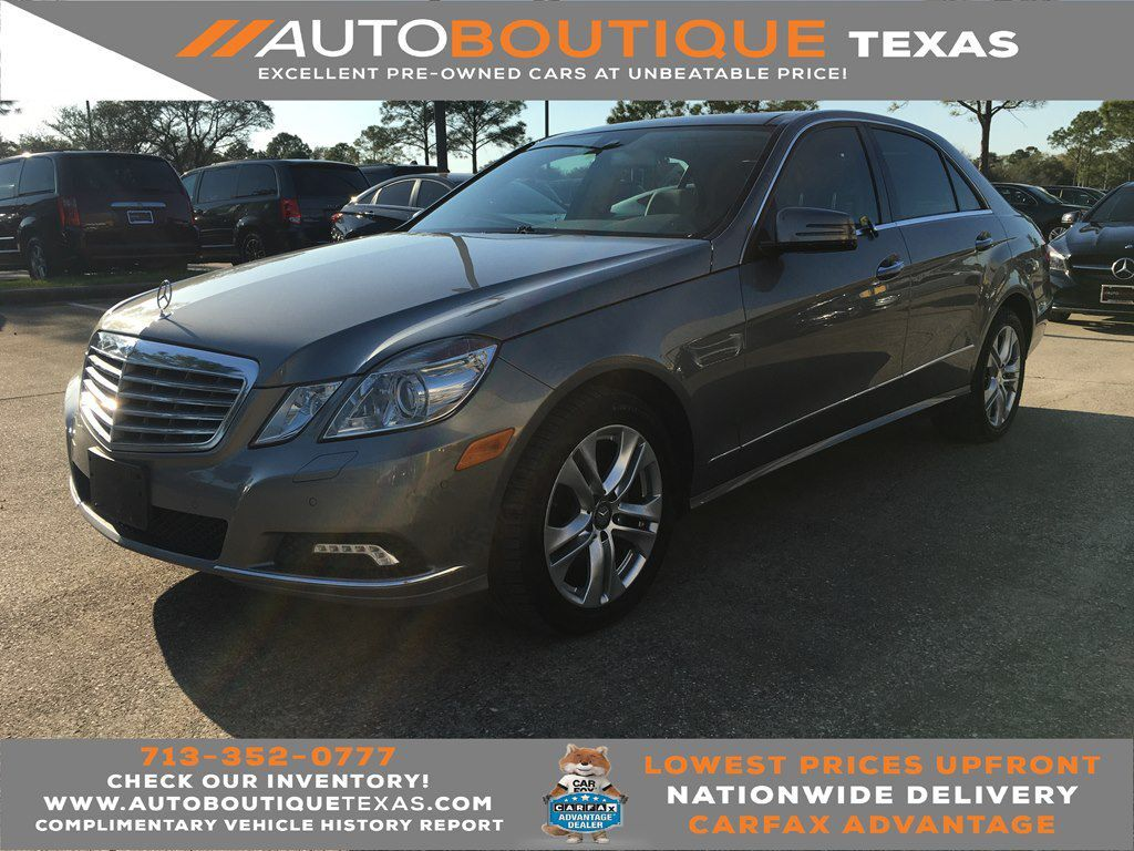 2010 MERCEDES-BENZ E-CLASS E350 4MATIC Houston TX