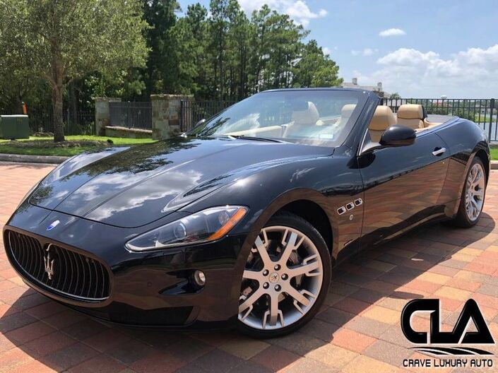 2010 Maserati GranTurismo Convertible  The Woodlands TX