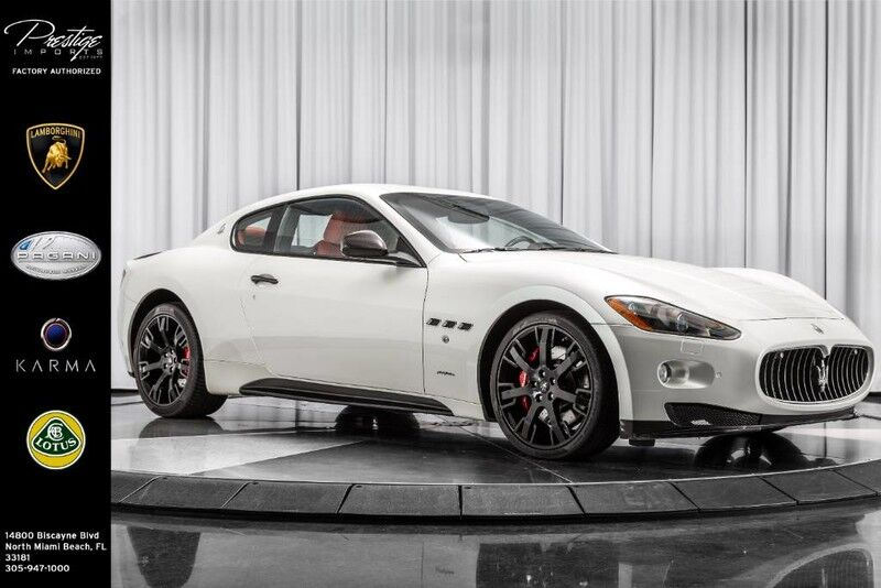 2010_Maserati_GranTurismo_S_ North Miami Beach FL