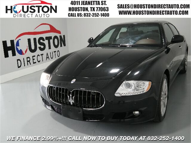 2010 Maserati Quattroporte Base Houston TX