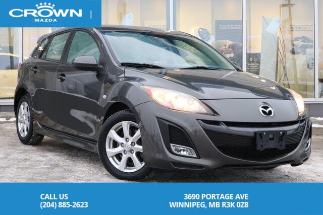 2010 Mazda Mazda3 Sport Auto GS *LOCAL VEHICLE *2.5L Winnipeg MB