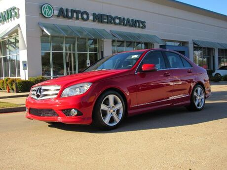 2010 Mercedes-Benz C-Class C300 Sport Sedan, NAVIGATION, LEATHER SEATS, MOONROOF,  HEATED SEATS, BLUETOOTH PHONE/MEDIA CONNECTI Plano TX