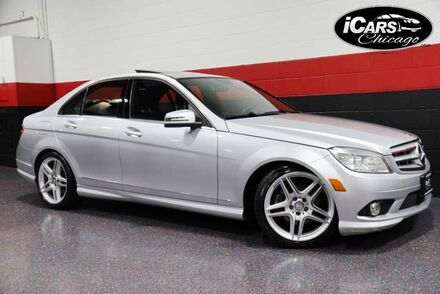 2010_Mercedes-Benz_C300 AMG Sport 4-Matic_4dr Sedan_ Chicago IL