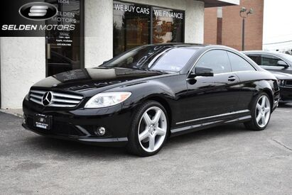 2010 Mercedes-Benz CL550 4MATIC COUPE