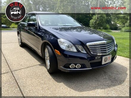 2010_Mercedes-Benz_E 350_4MATIC Luxury w/ Premium Pkg_ Arlington VA