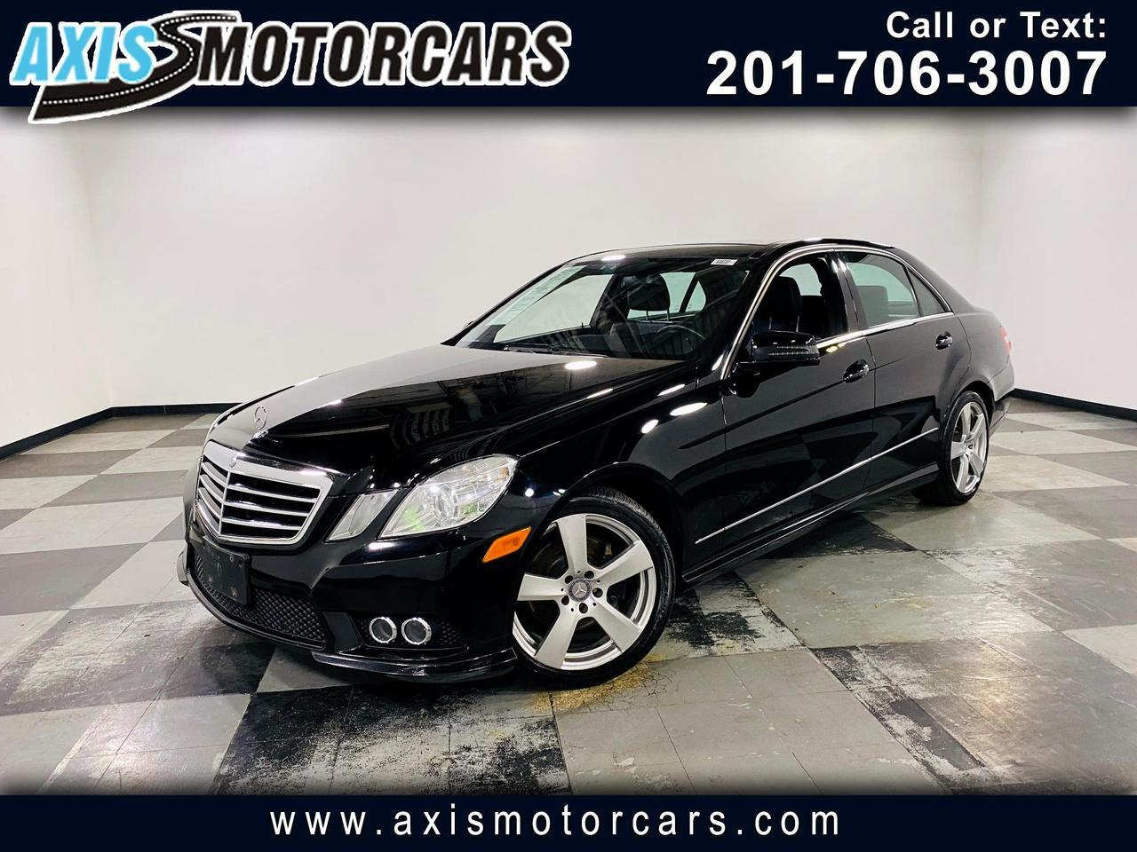 2010 Mercedes-Benz E-Class 4dr Sdn E 350 Sport 4MATIC Jersey City NJ