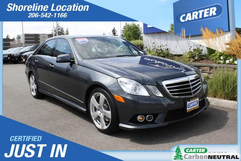 2010 Mercedes-Benz E-Class E 350 Luxury Seattle WA