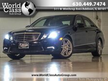 Mercedes-Benz E-Class E 550 Sport - ONE OWNER 4MATIC AWD XENON LIGHTS LEATHER INTERIOR SUN ROOF HEATED AND AIR CONDITIONED SEATS PARKING SENSORS NAVIGATION PUSH BUTTON START 2010